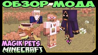 ч.275 - Лучший друг и помошник (SummonSphere Mod) - Обзор мода для Minecraft