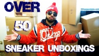 OVER 50 SNEAKER UNBOXINGS (@SCOOP208)