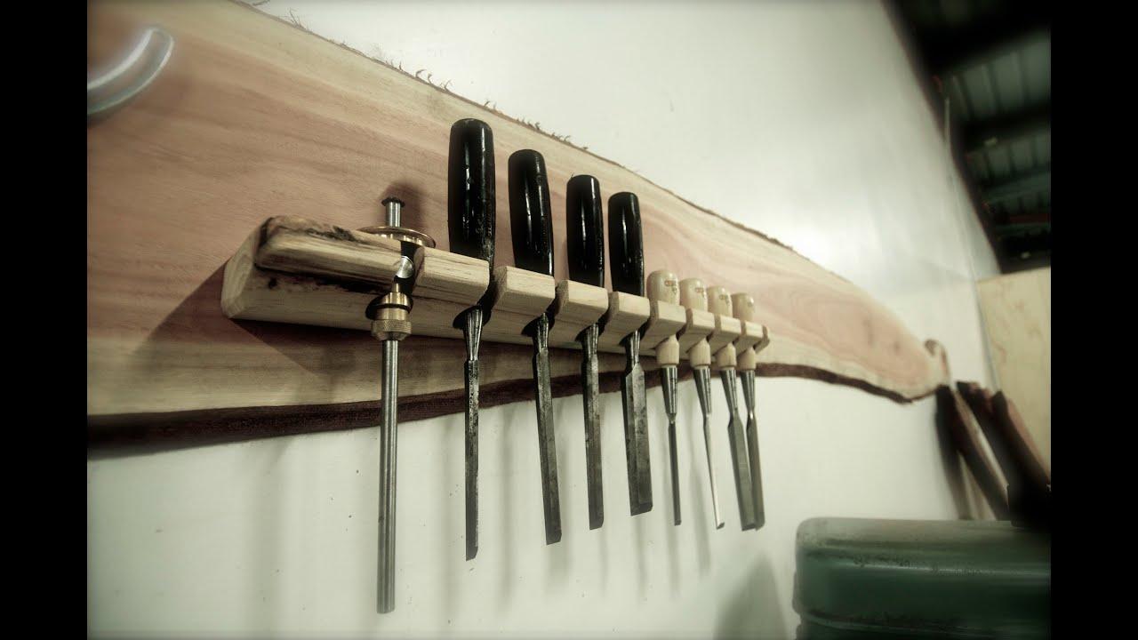 Chisel Storage Rack