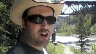 Kiskatinaw Bridge Alaska Highway