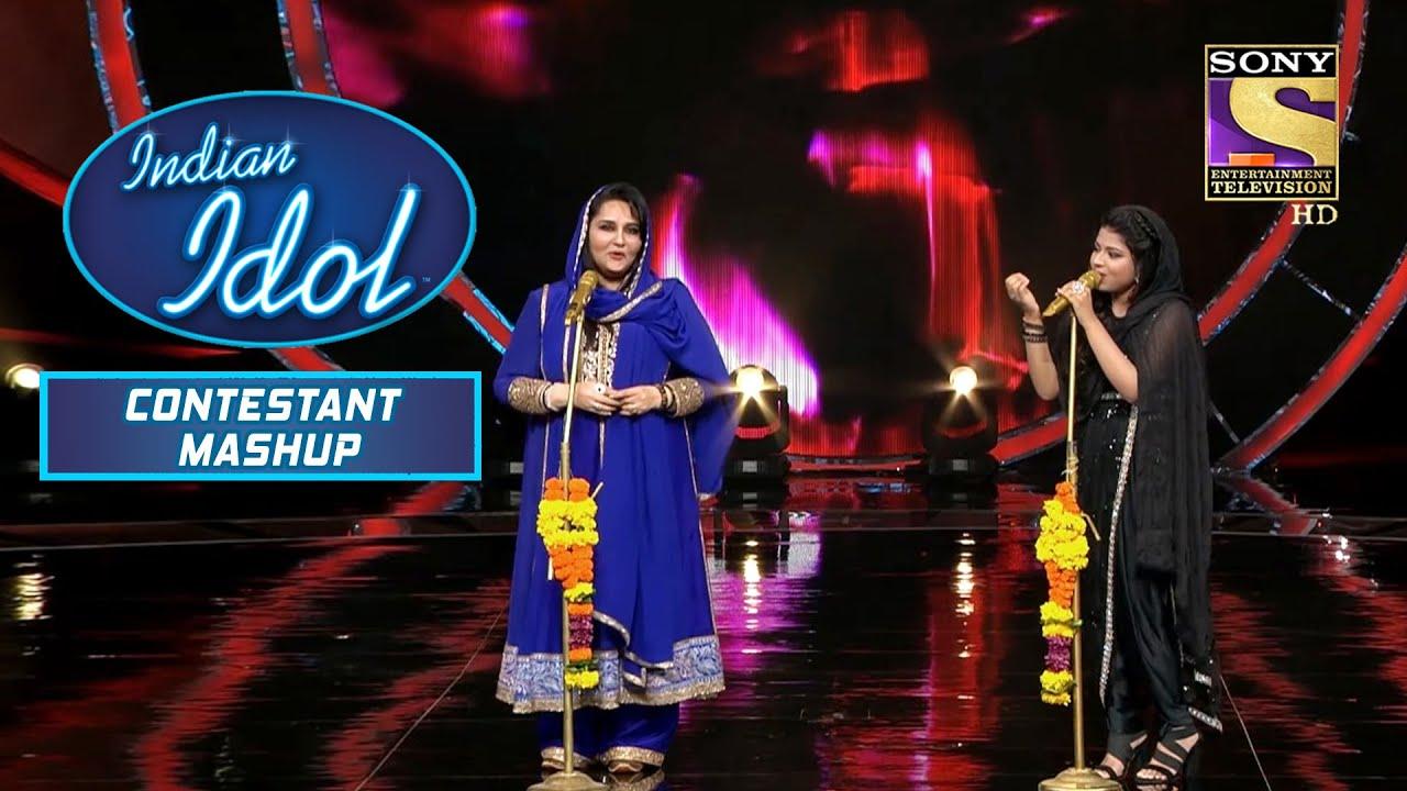 Download Arunita और Reena जी ने मिलके Recreate किया यह ख़ूबसूरत Moment   Indian Idol   Contestant Mashup