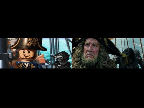 LEGO Pirates of the Caribbean  Dead Men Tell No Tales  - side by side version