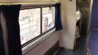 Interior Walk Through of the Amtrak Train the Texas Eagle