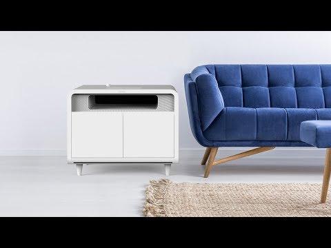 The Sobro Smart Side Table - YouTube