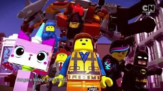 The Lego Movie 2 Video-Spiel-Anzeige, Wie Gesehen, Auf Cartoon Network UK (Reguläre Version)