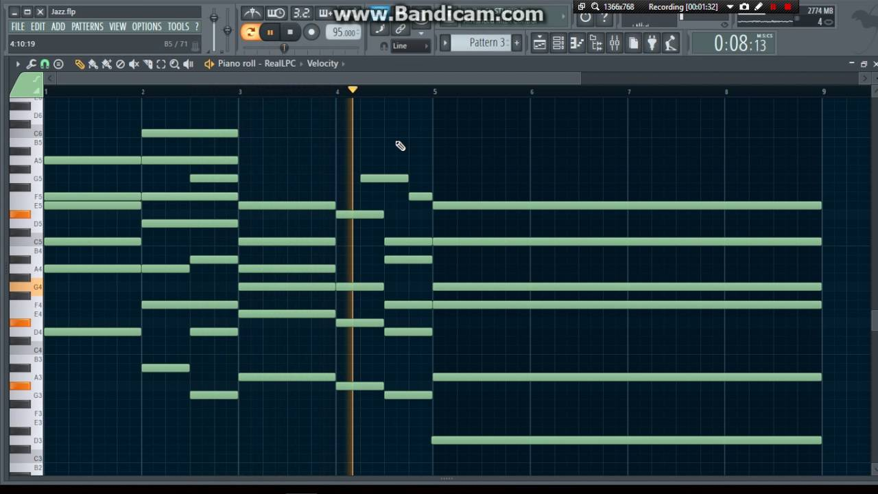 Trying out Jazz with FL Studio
