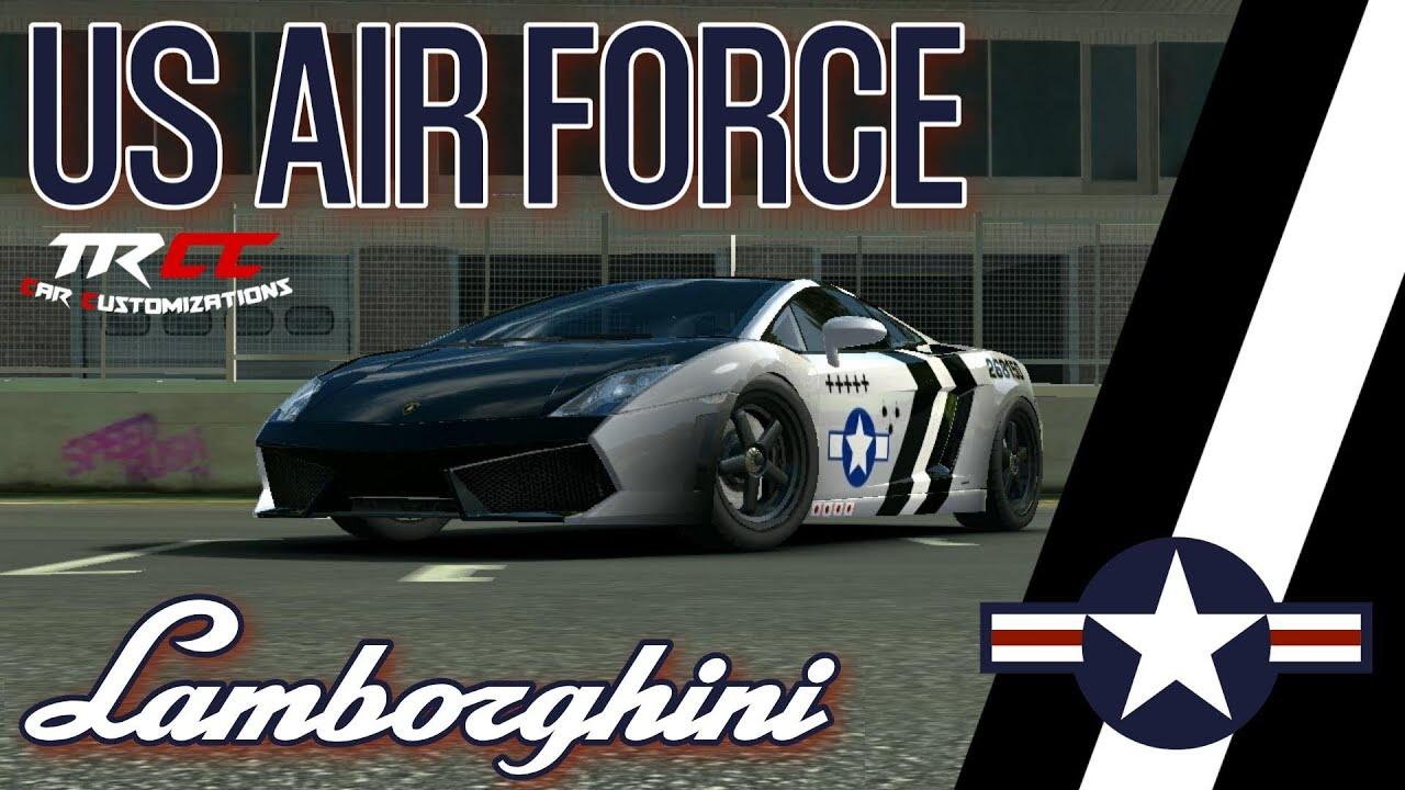 Real racing 3 car customizations lamborghini gallardo lp 560 4
