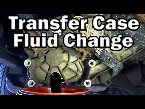 How To Change Transfer Case Fluid Easy Youtube