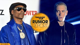 Eminem Fires Back After Snoop Dogg's Comments On The Breakfast Club