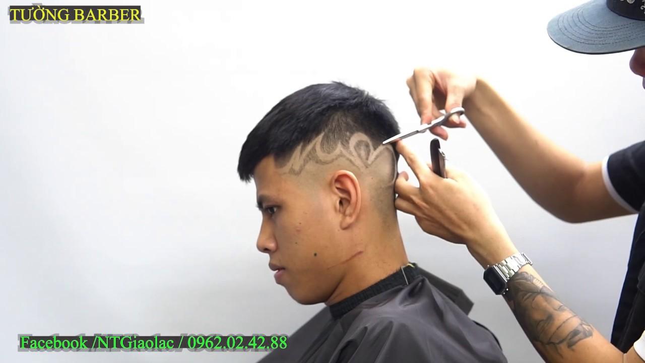 Chia sẻ cạo Fade hoa văn đơn giản / Tattoo skin   Tổng quát những thông tin liên quan đến cạo hình trên tóc đúng nhất