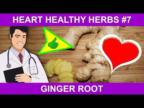 Heart Healthy Ginger Benefits - Natural Health Herbs for You