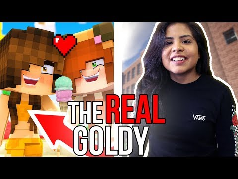 THE REAL GOLDY!! 😱 // Goldy from Minecraft Daycare