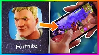 *NEW* DOWNLOAD FORTNITE MOBILE on ANY DEVICE!