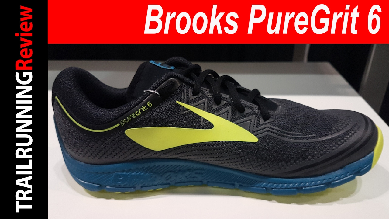 7bf52b7679924 Brooks PureGrit 6 Preview - YouTube