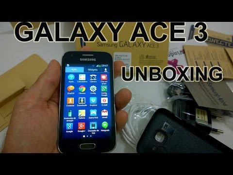 Samsung Galaxy Ace 3 4G - O Que Vem na Caixa? [Unboxing Brasil]