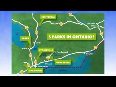 Treetop Trekking - Ontario Zip line Adventures - Official Video