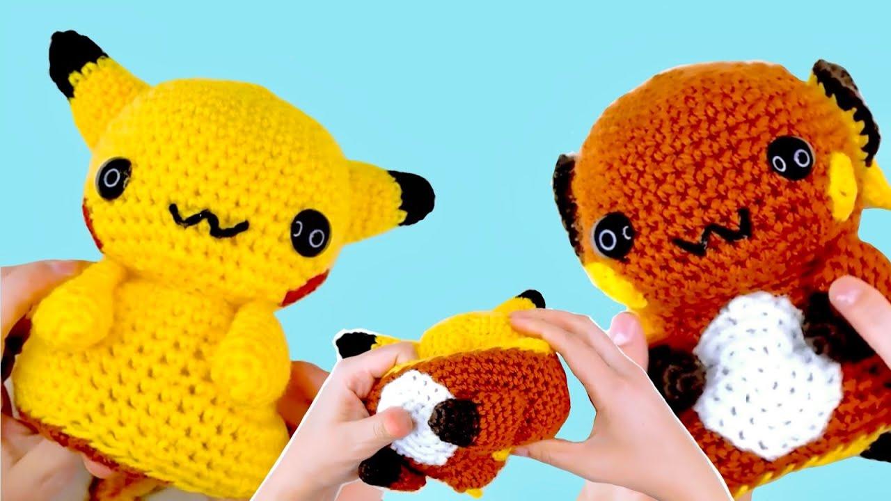 Pikachu amigurumi #amigurumi #handmade #craftydork #pokemo…   Flickr   720x1280