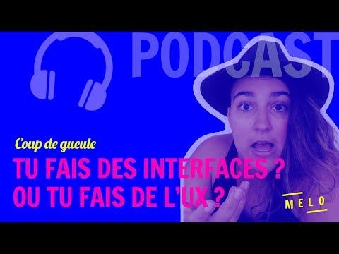FAIRE DES INTERFACES CE N'EST PAS FAIRE DE L'UX