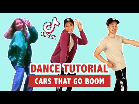 CARS THAT GO BOOM TIK TOK DANCE (TUTORIAL)