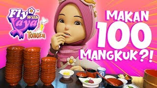 Fly With Yaya | Tohoku : YAYA MAKAN 100 MANGKUK?!  (ENG/JP captions)