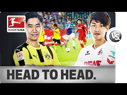 Shinji Kagawa (香川 真司)  Vs. Yuya Osako (大迫 勇也) - Top Players Go Head-to-Head