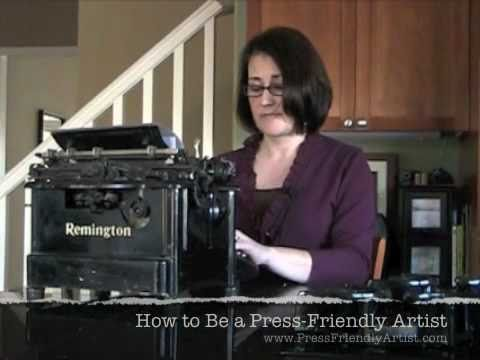 How to Be a Press Friendly Artist