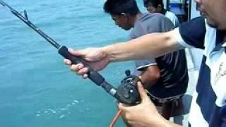Repeat youtube video ตกปลาช่อนทะเล