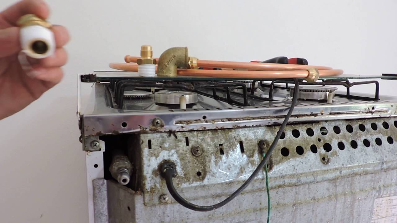 Como flangear moldar e adaptar tubo de cobre 3 8 para gas - Tubo de cobre para gas ...