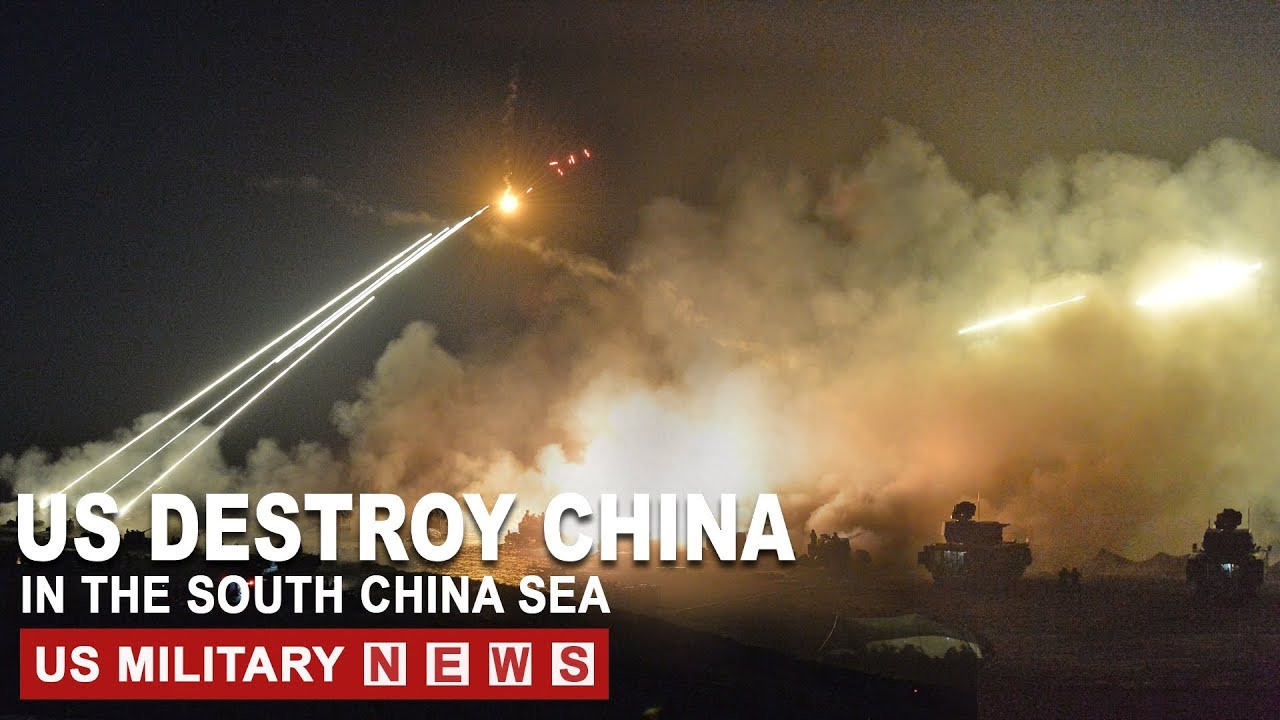South China Sea Update (April 2, 2020) US Destroying China in Contested Waters