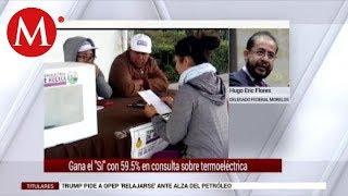Entrevista a Hugo Eric Flores sobre consulta Termoeléctrica en Huexca