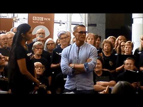 BBC WM Dementia Choir  July 2018  Birmingham Symphony Hall