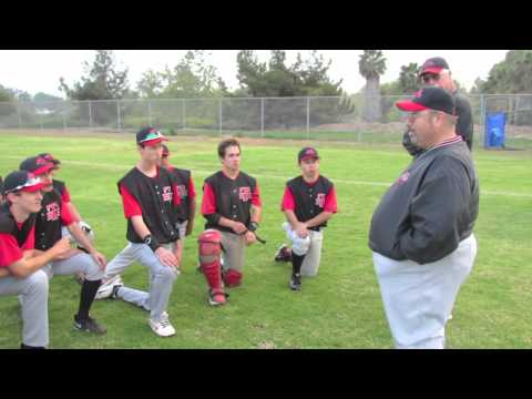 High Tech High San Diego Baseball pre-game & post-game talks