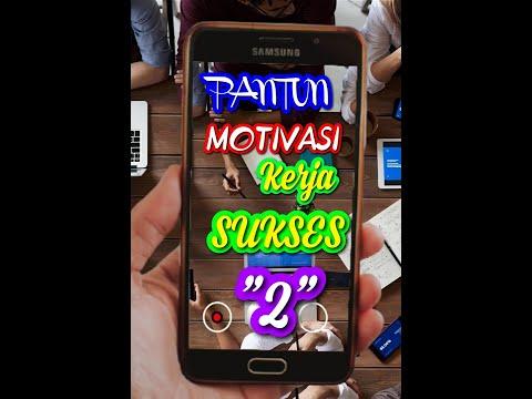 Video Pantun Motivasi Kerja Sukses #Shorts #Motivasi #Sukses