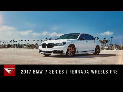 2017 BMW 7 Series | Beach Day | Ferrada Wheels FR3