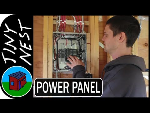 Tiny House Electrical Panel (Ep.43)