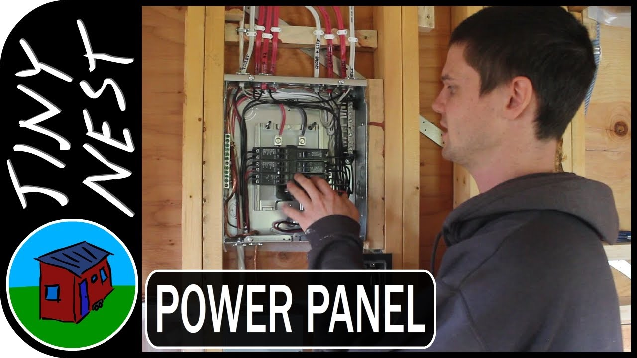 Tiny House Electrical Panel Ep43 Youtube Home Built Fuse Box