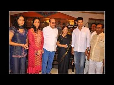 Super Star Mahesh Babu with his Lovely Family Video