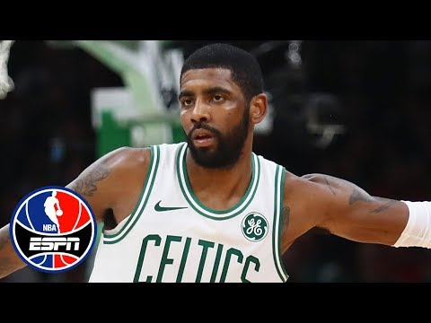 Kyrie Irving outduels Kawhi Leonard in the Celtics' OT win over Raptors | NBA Highlights
