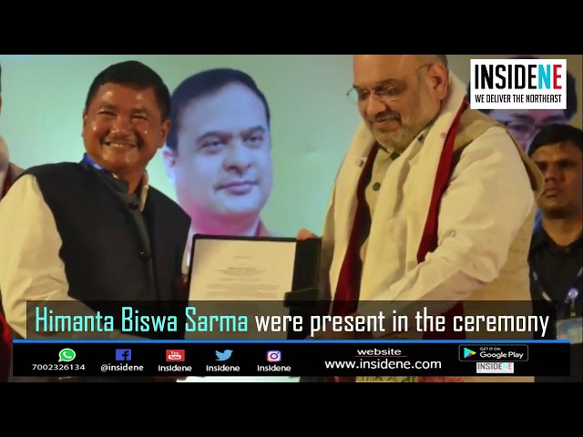 Foundation Laying Stone Ceremony of Karbi and Dimasa Bhawans in New Delhi