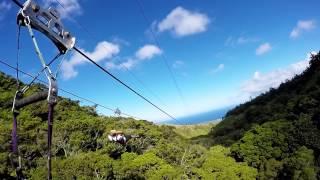 GoPro Kapalua Ziplines Maui 2015