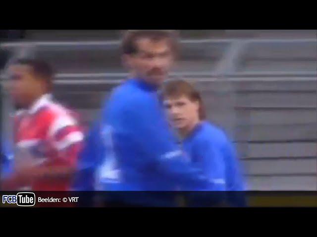 1991-1992 - Jupiler Pro League - 12. Club Brugge – SV Waregem 2-1