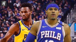 Philadelphia 76ers vs Golden State Warriors - Full Game Highlights | March 7, 2020 NBA Season