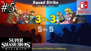 Super Smash Bros Ultimate Episode 5 Squad Strike