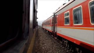 [China Railway] 中国鉄道 普通列車を追い抜く快速・貨物 計3本 Longhai Line,Shaanxi