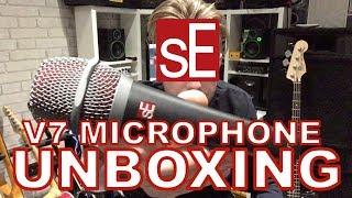 SE Electronics V7 Mic UNBOXING + DEMO