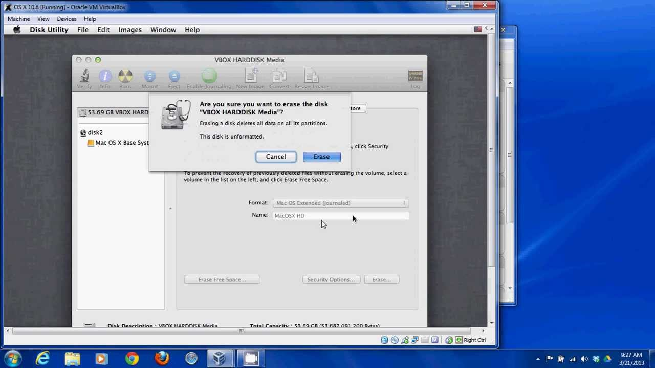 virtualbox pour mac os x 10.4.11