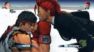 Super Street Fighter 4 IV AE PC Ryu Playthrough + Secret Evil Ryu Boss fight 1/2