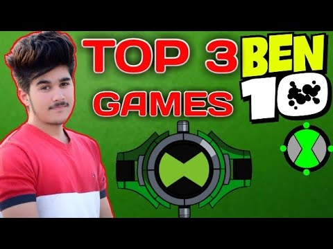 TOP 3 BEN-10 High Graphics Games For Android | You Must Watch Guys 2018 (HINDI)