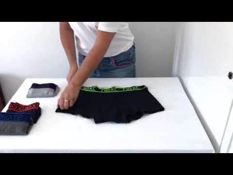 How To Fold Boxer Shorts