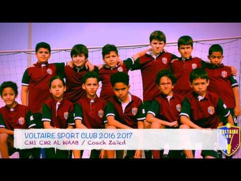Voltaire Sport Club CM1 CM2  2016 2017